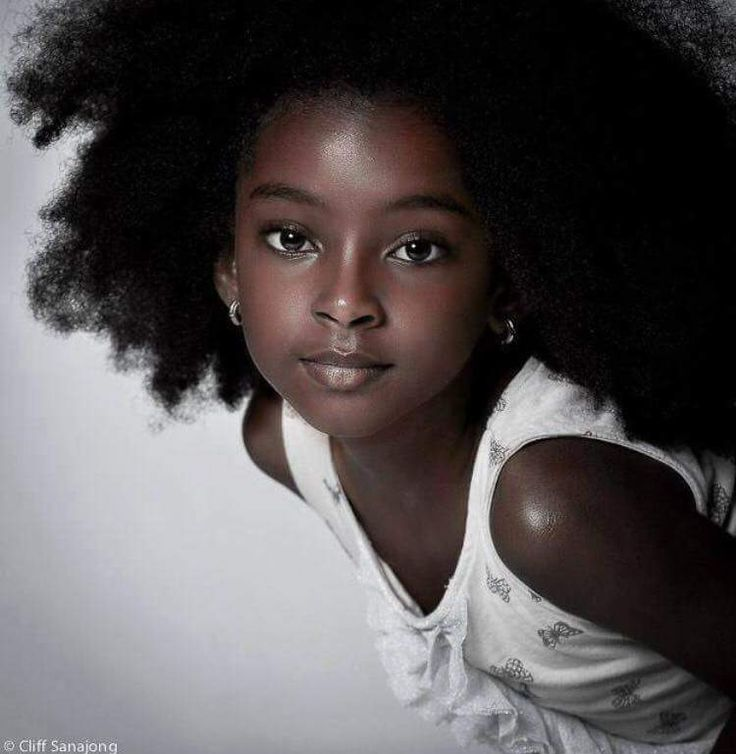 black kids model curly hairstyles