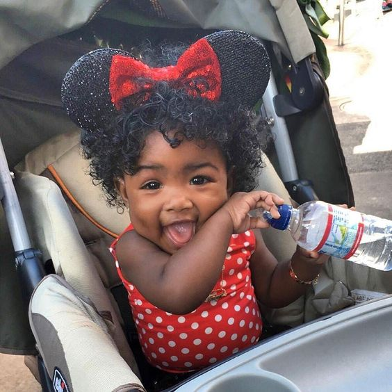black kids girlish afro hairstyles