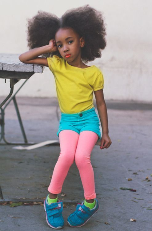 huge black kids afro hairstyles