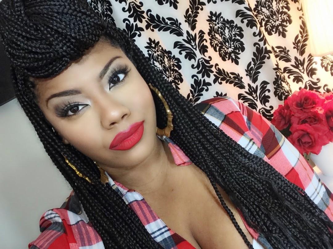 braided hairstyles for black women- box braids