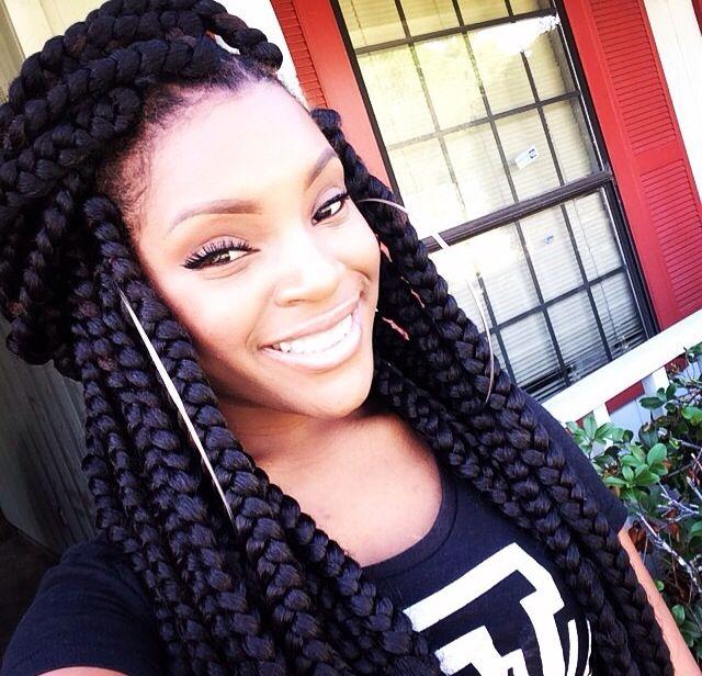 big box braids hairstyles for black women
