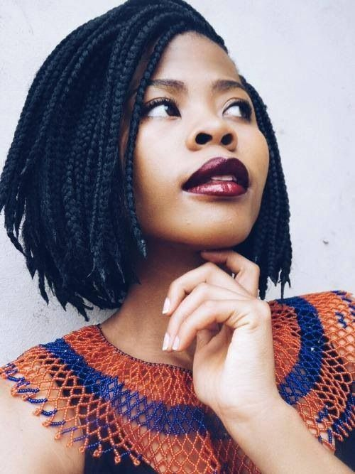 short box braids hairstyles for black women