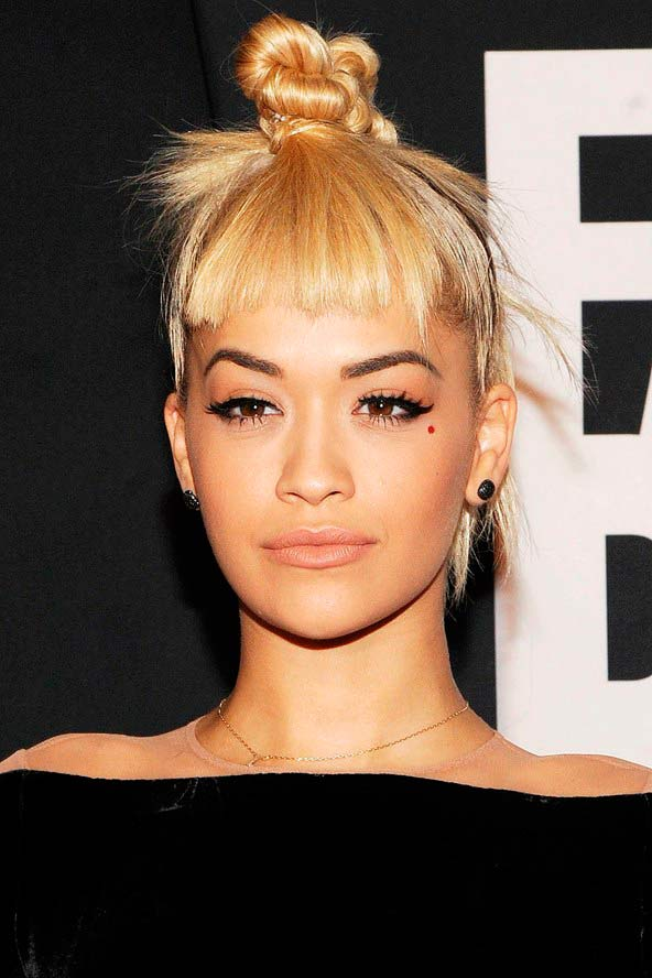 trendy top knot hairstyles 2016