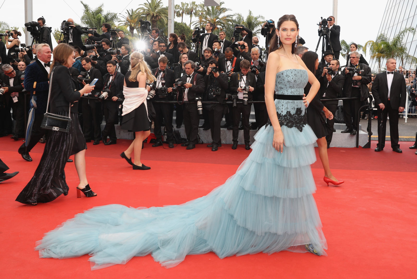Bianca Balti hairstyles Cannes 2016