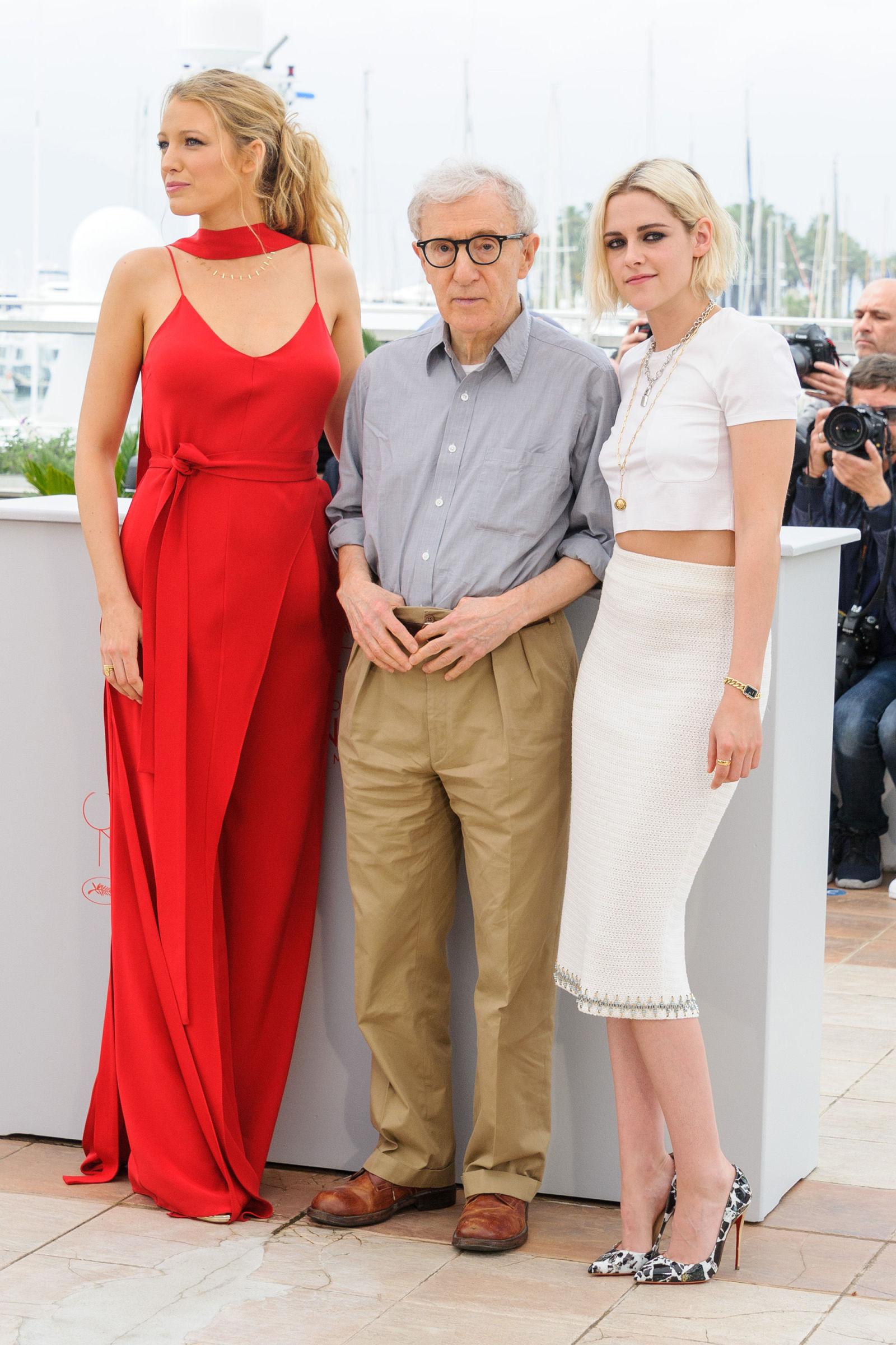 Blake Lively, Woody Allen and Kristen Stewart - Cannes 2016