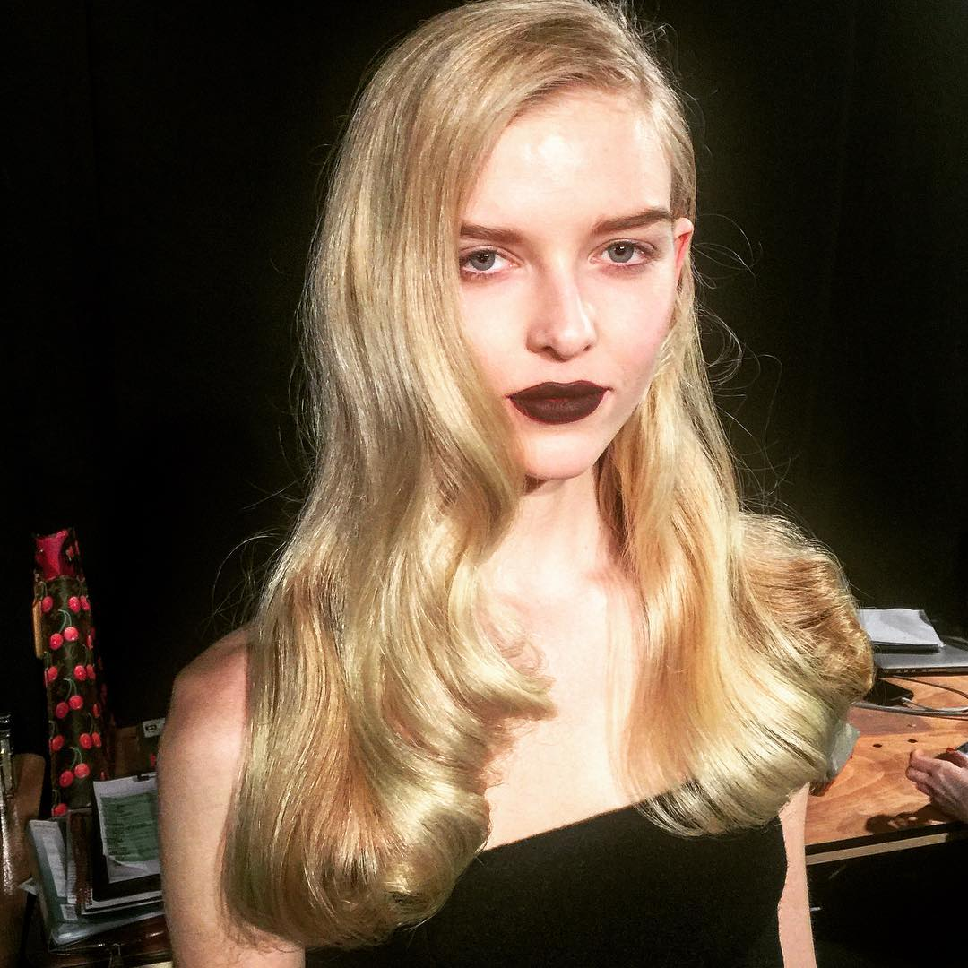 Charlotte Olympia blonde hair colors 2016 Fall