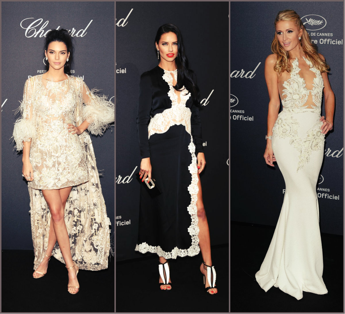 Chopard Wild Party 2016 Hairstyles & Looks