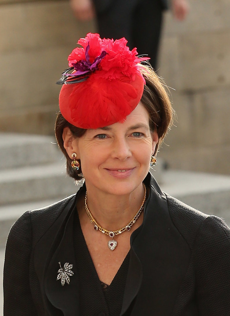 Countess Diane of Nassau royal hairstyles and hair accessories
