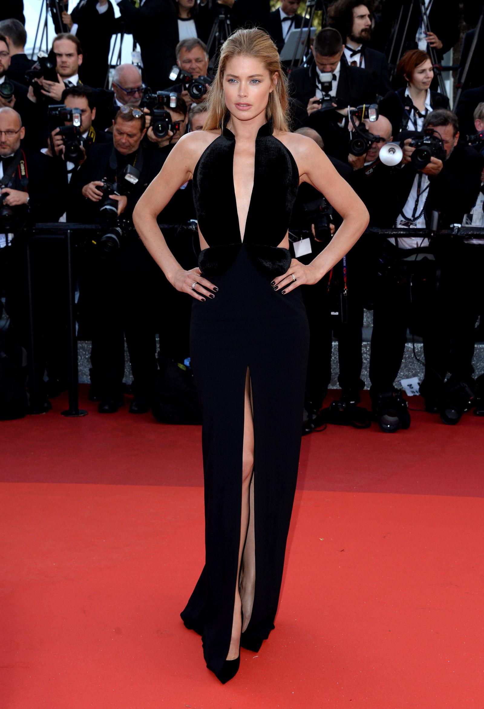 Doutzen Kroes hairstyles Cannes 2016