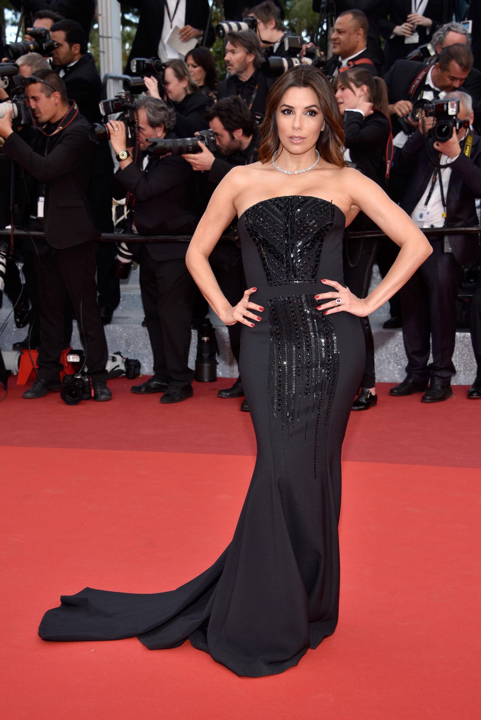 Eva Longoria hairstyles Cannes 2016