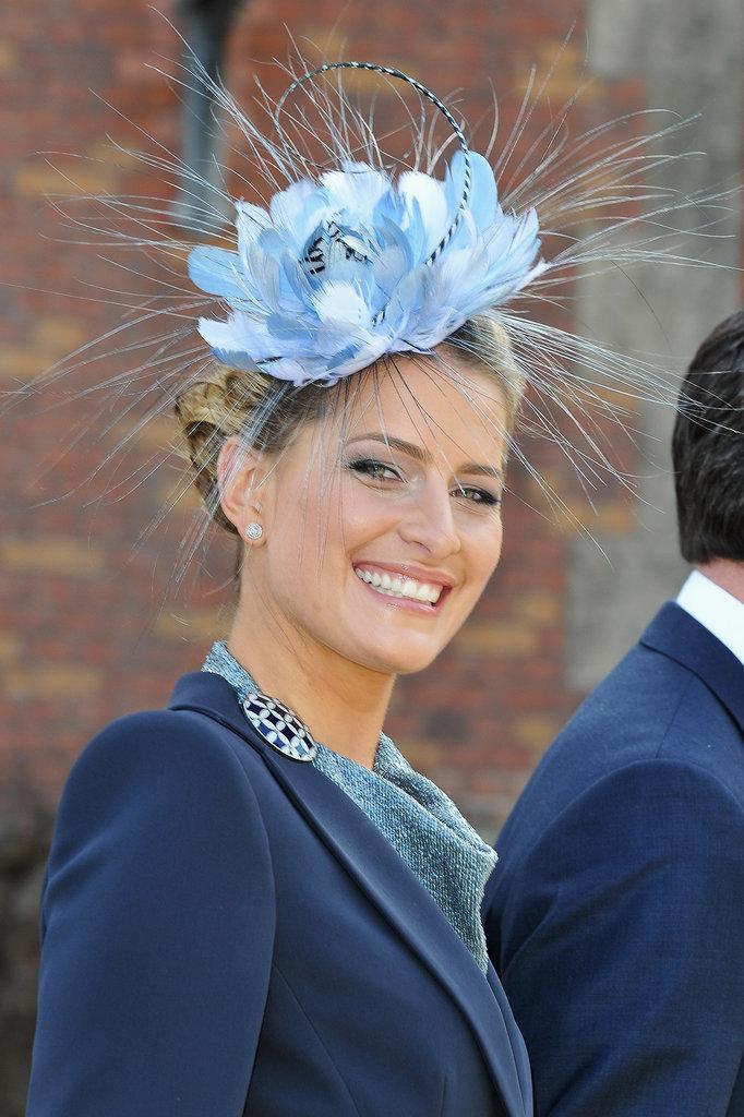 Greece Princess Tatiana royal hairstyles and hair accessories