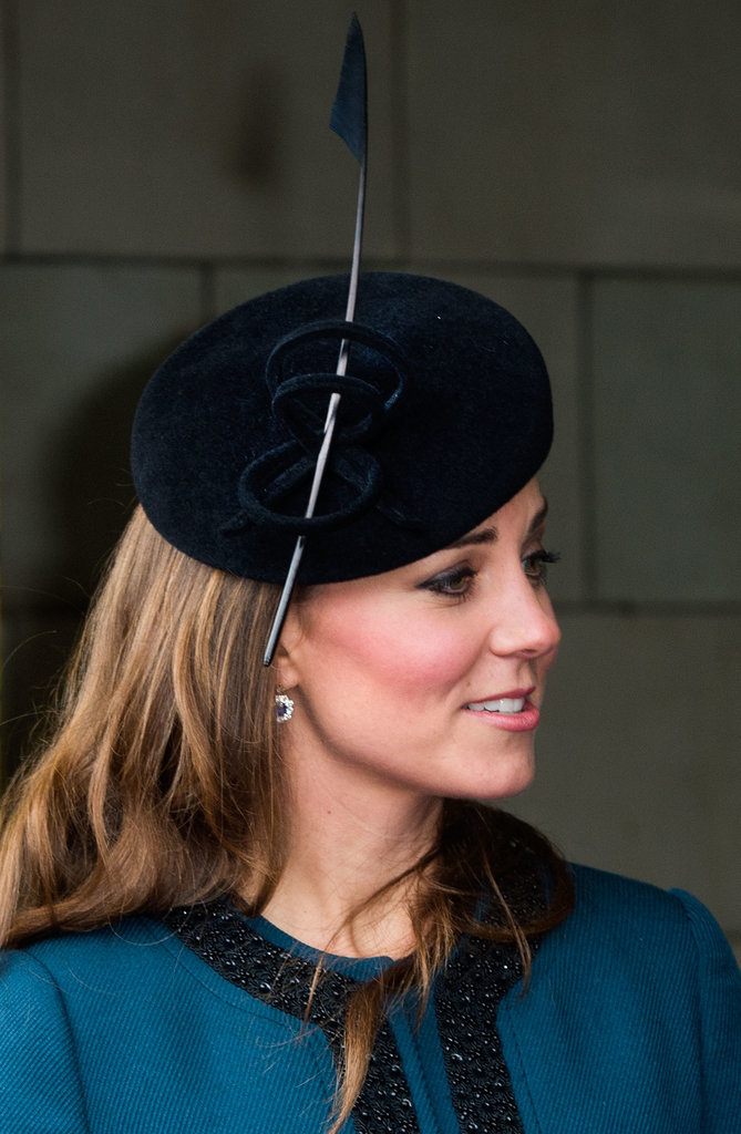 Kate Middleton hairstyles and hair accessories