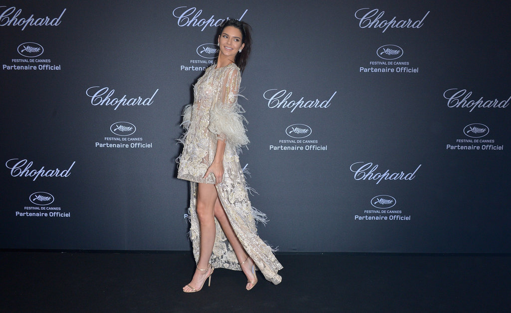 Kendall Jenner hairstyles 2016 Cannes - Chopard Wild Party