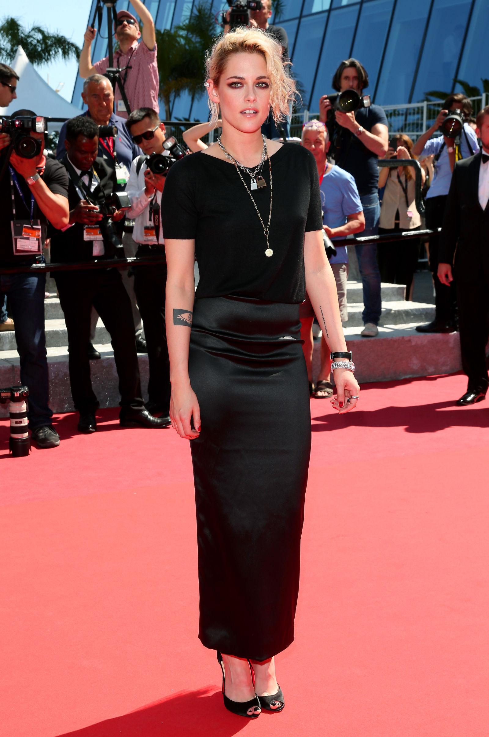Kristen Stewart hairstyles Cannes 2016