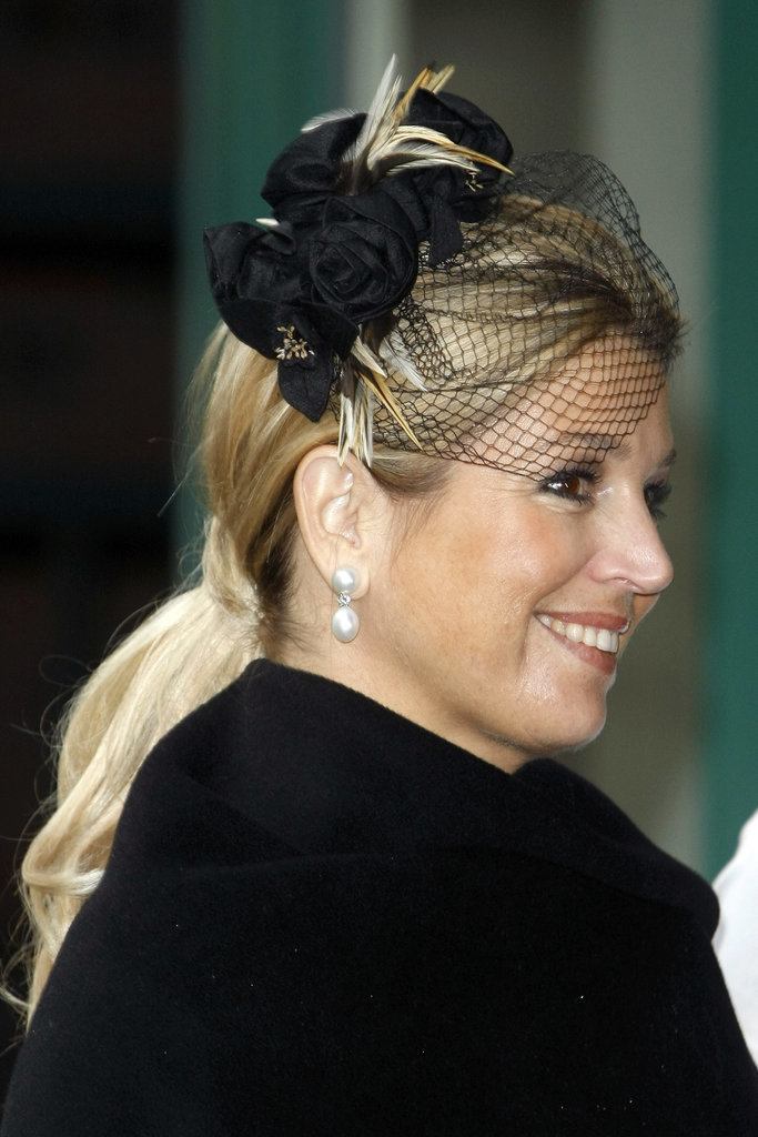 Princes Maxima of the Netherlands royal hairstyles and hair accessories 2016