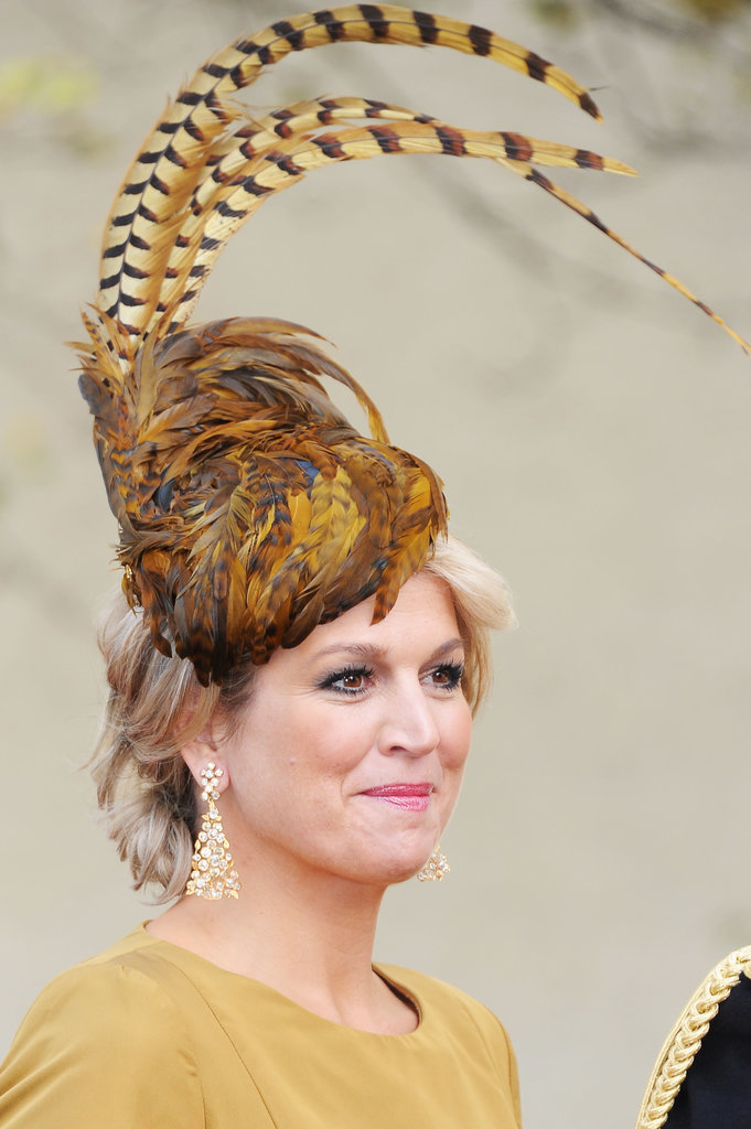 Princes Maxima of the Netherlands royal hairstyles and hair accessories