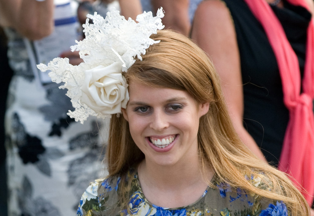 Princess Beatrice royal hairstyles and hair accessories 2015