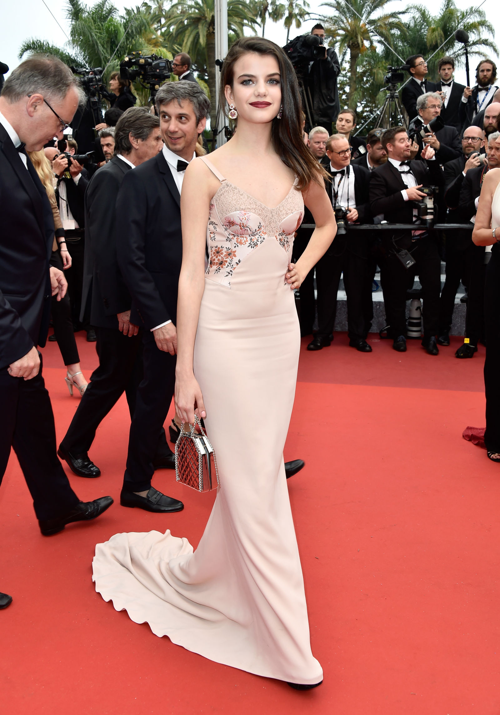 Sonia Benamar hairstyles Cannes 2016