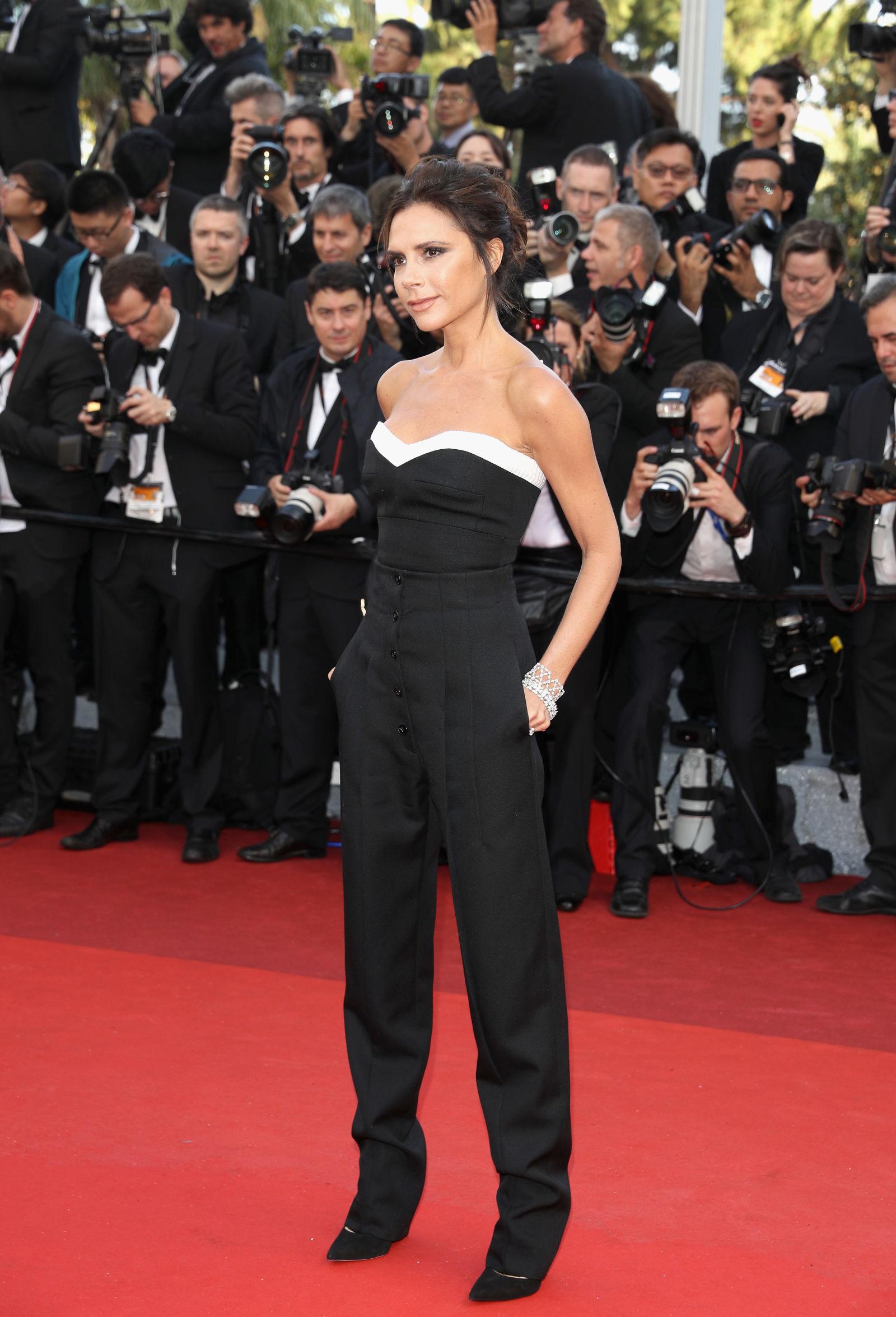 Victoria Beckham hairstyles Cannes 2016
