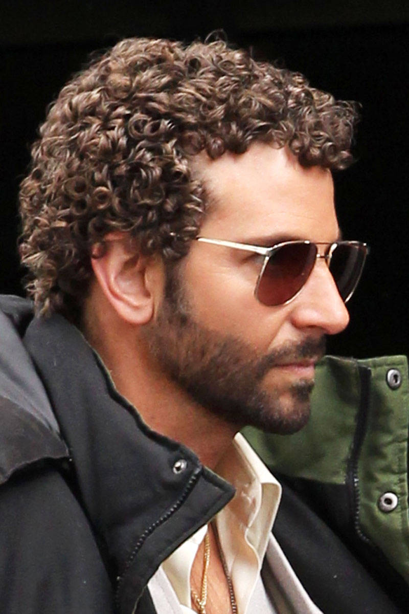 Bradley Cooper short curly hair