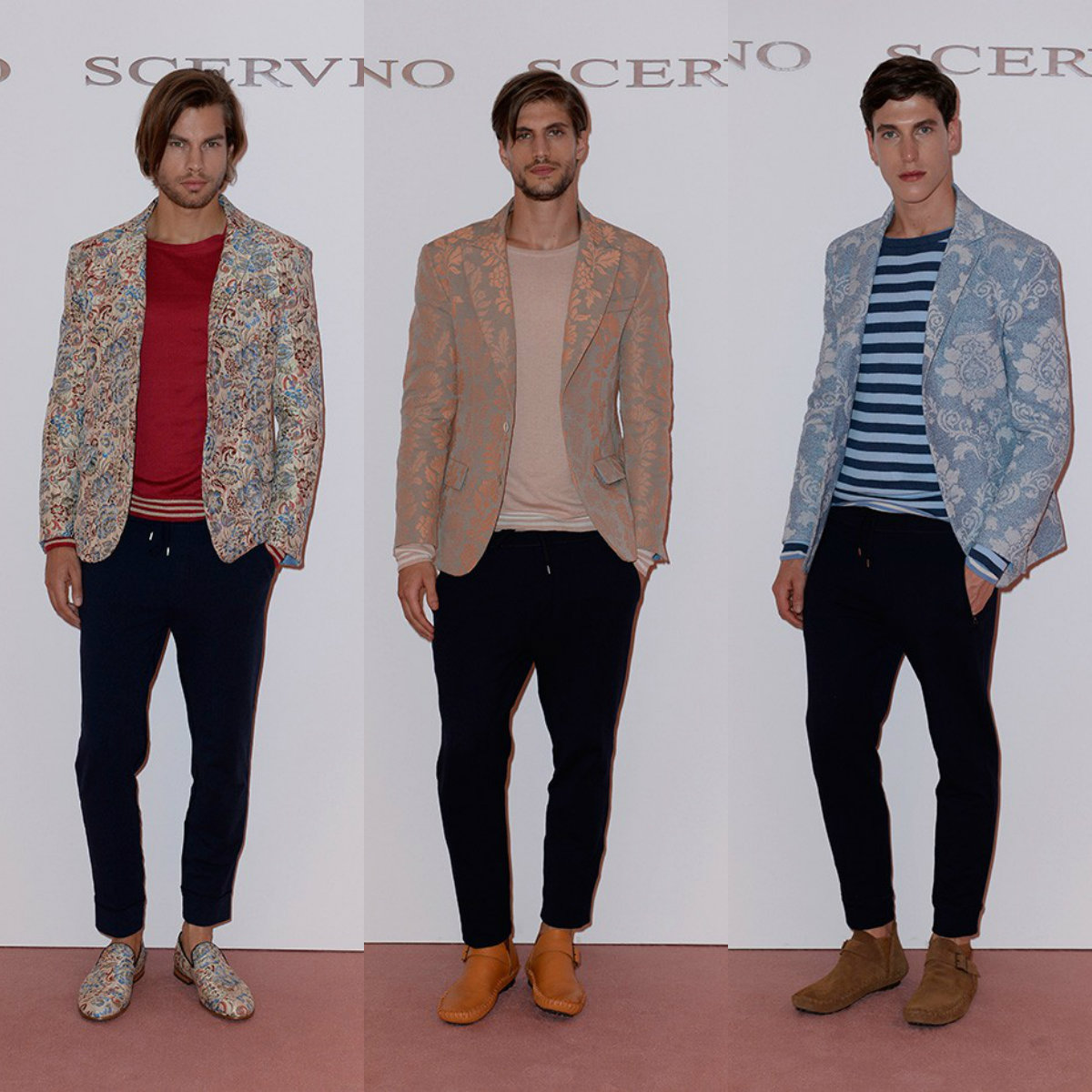 Ermanno Scervino mens hairstyles 2017