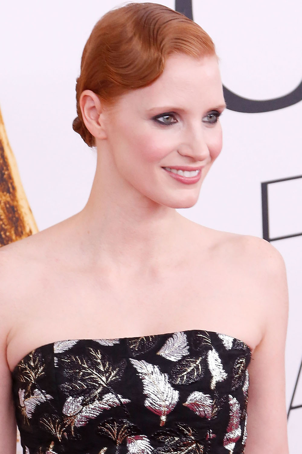 2016 CFDA Fashion Awards Jessica Chastain finger waves