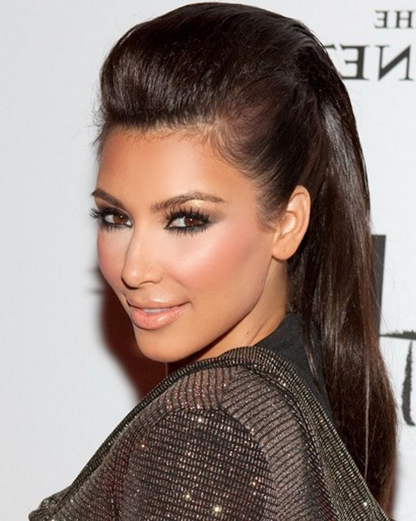 Perfect Nicole Sherzinger Quiff Hairstyles Kim Kardashian Quiff Hairstyles