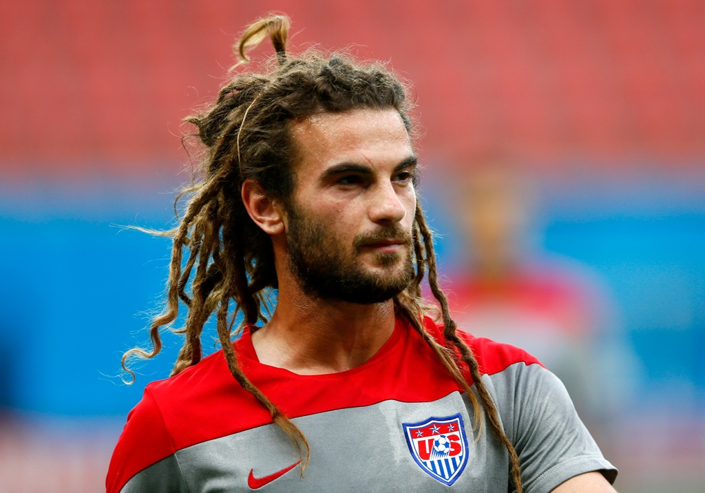 Kyle Beckerman dreads hairstyles