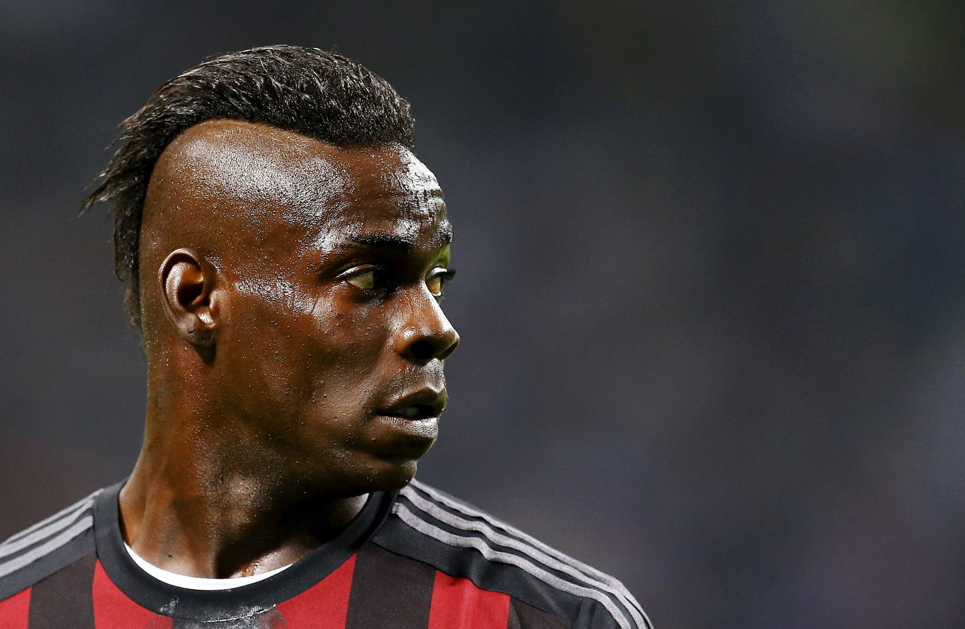 Mario Balotelli mohawk hairstyles