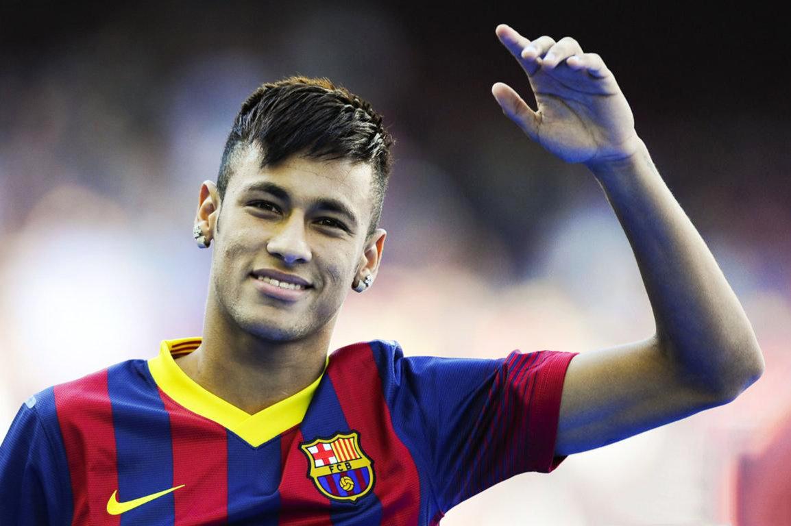 Neymar footballers hairstyles