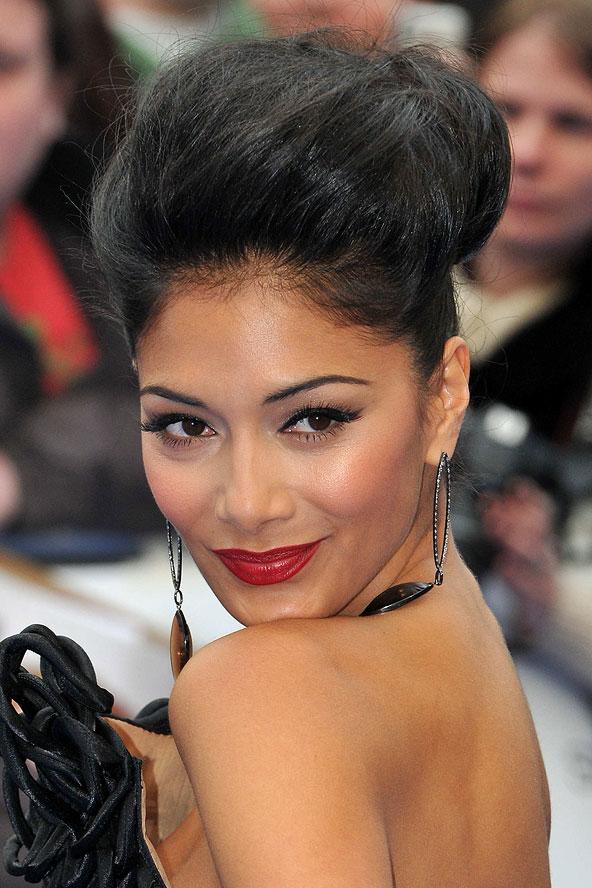 Nicole Sherzinger quiff hairstyles