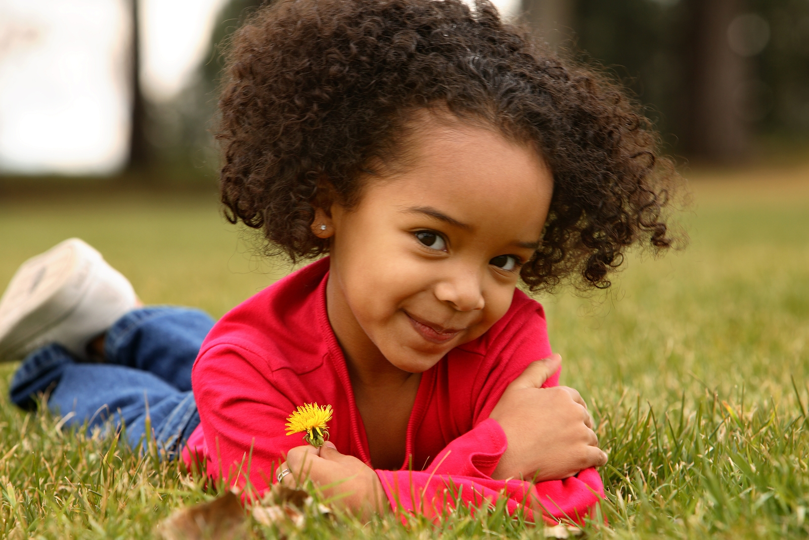 afro hair for kids