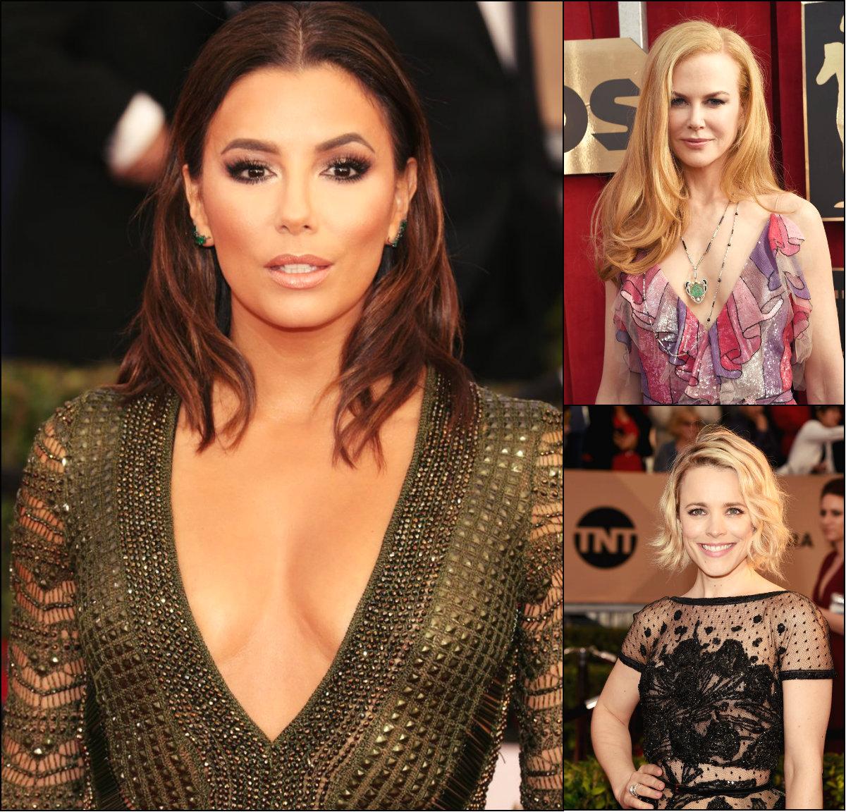 best celebrity hairstyles at SAG 2016