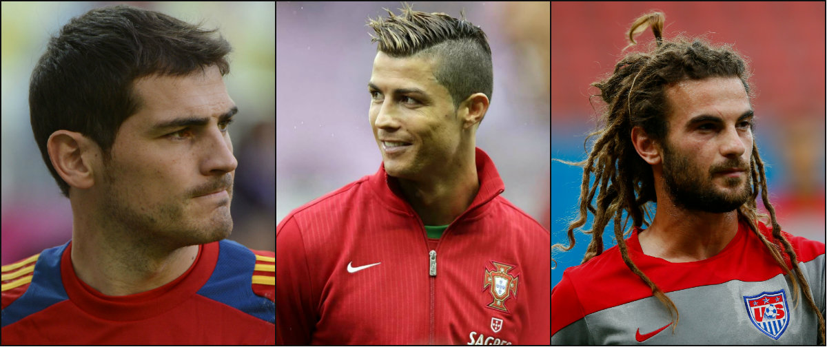 Footballers Best Hairstyles Inspiring To Watch Euro 2016 Popular