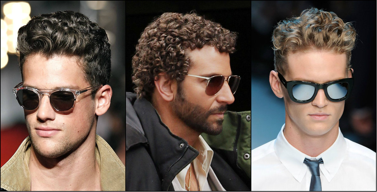 Flirty Wavy Hairstyles for Men