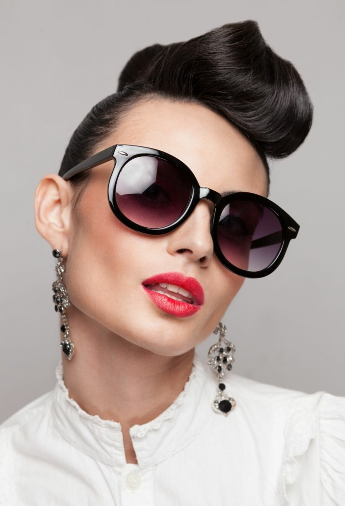 rockabilly quiff hairstyles for women