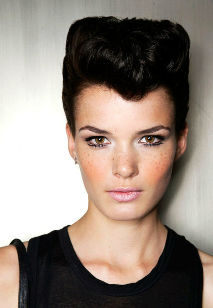 Daring Women Quiff Hairstyles To Make A Statement