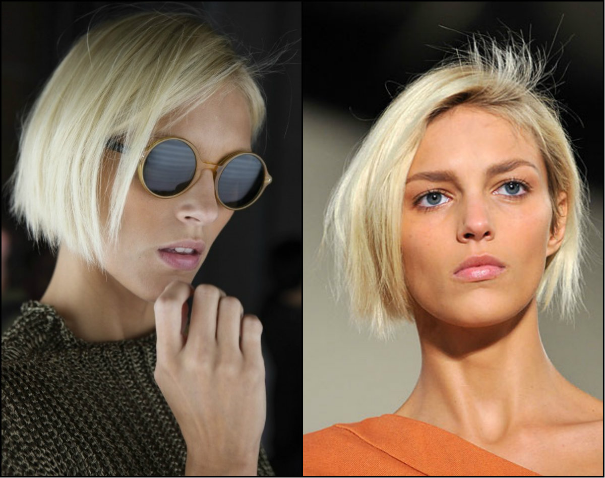 Anja Rubik new bob haircuts 2016