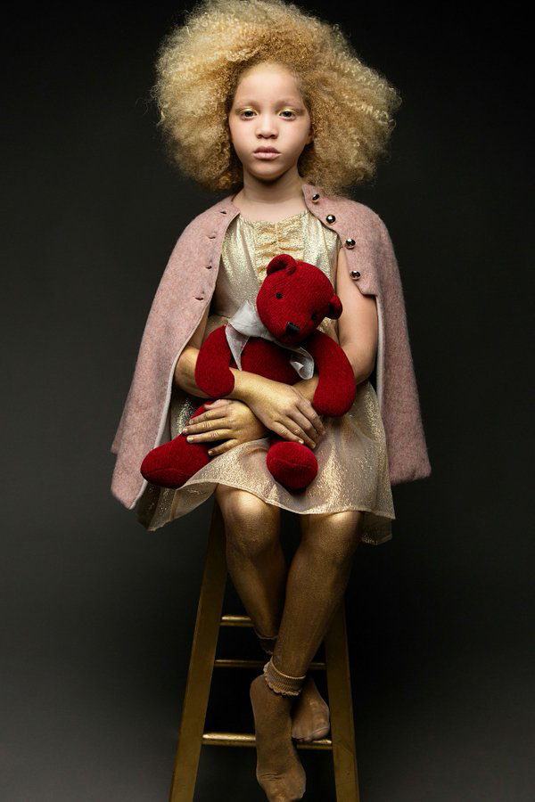 Ava Clarke natural afro hairstyles