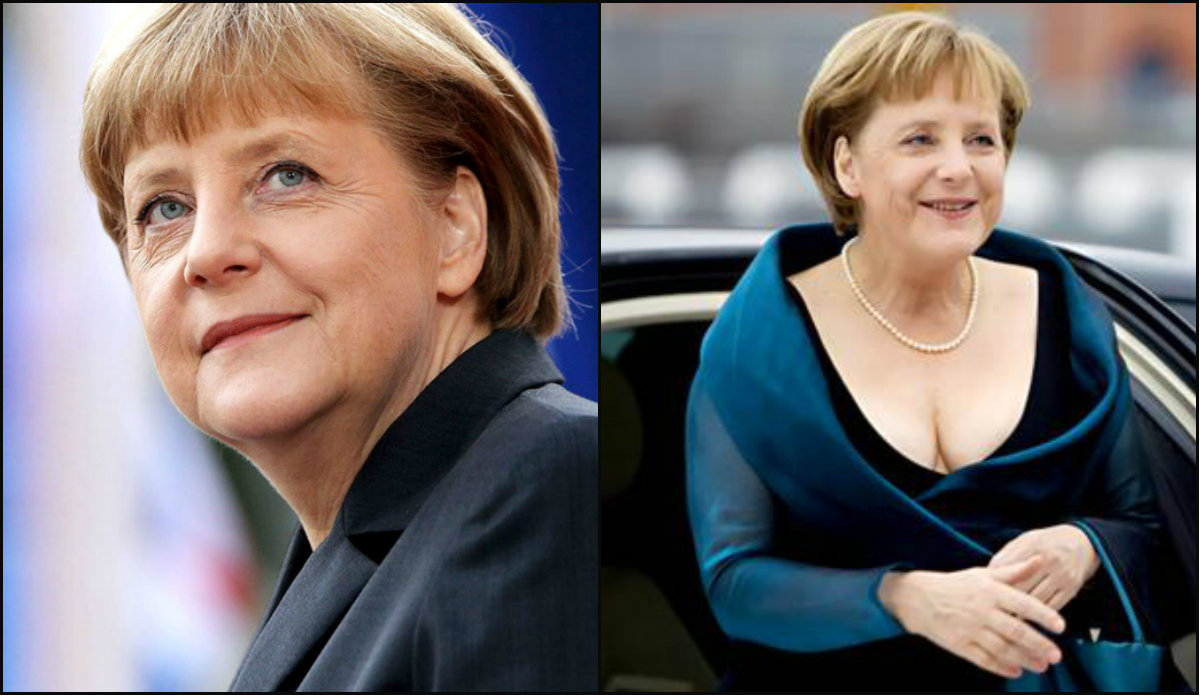 Chancellor of Germany Angela Merkel bob haircuts