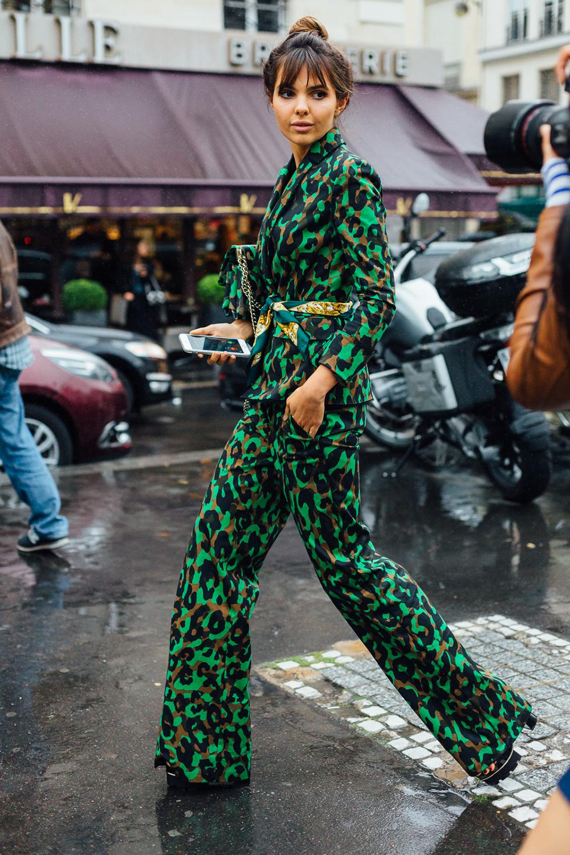 Couture 2016-2017 high bun hairstyles