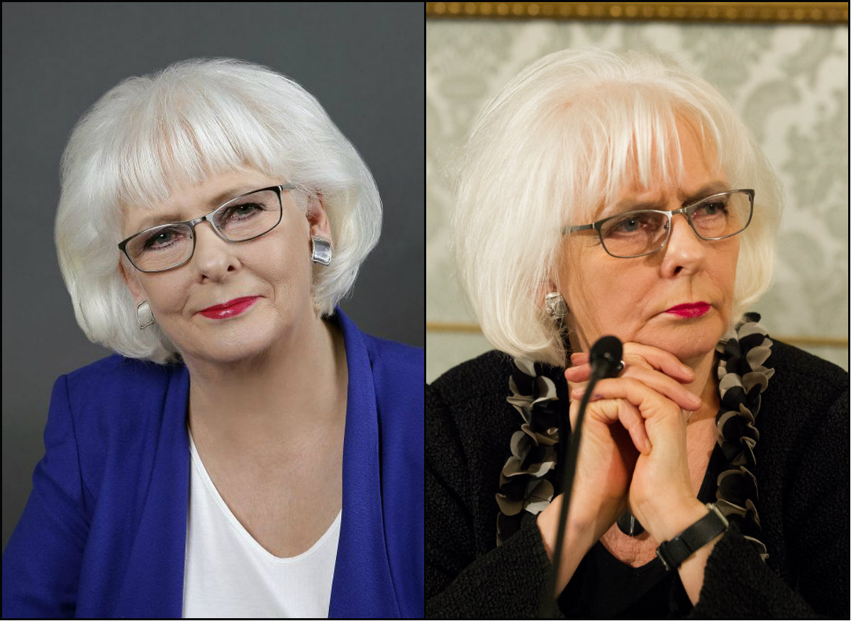 Iceland PM Johanna Sigurdardottir bob hairstyles