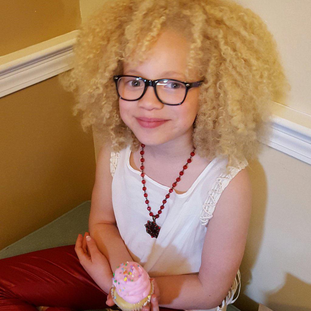 Moon kid natural curly hair