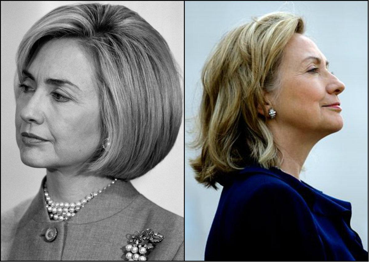US president Hillary Clinton bob hairstyles
