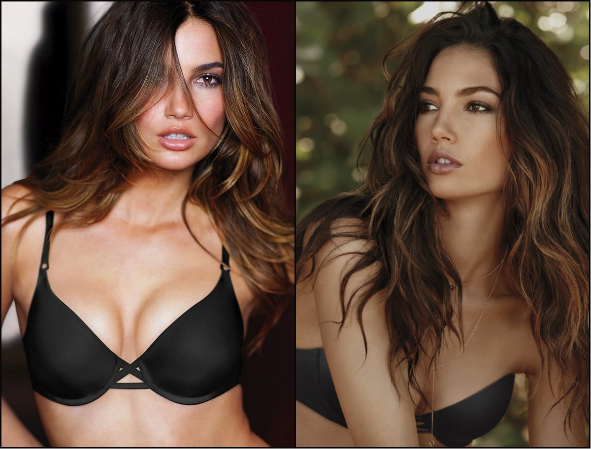 Victoria's Secret models hairstyles -Lily Aldridge