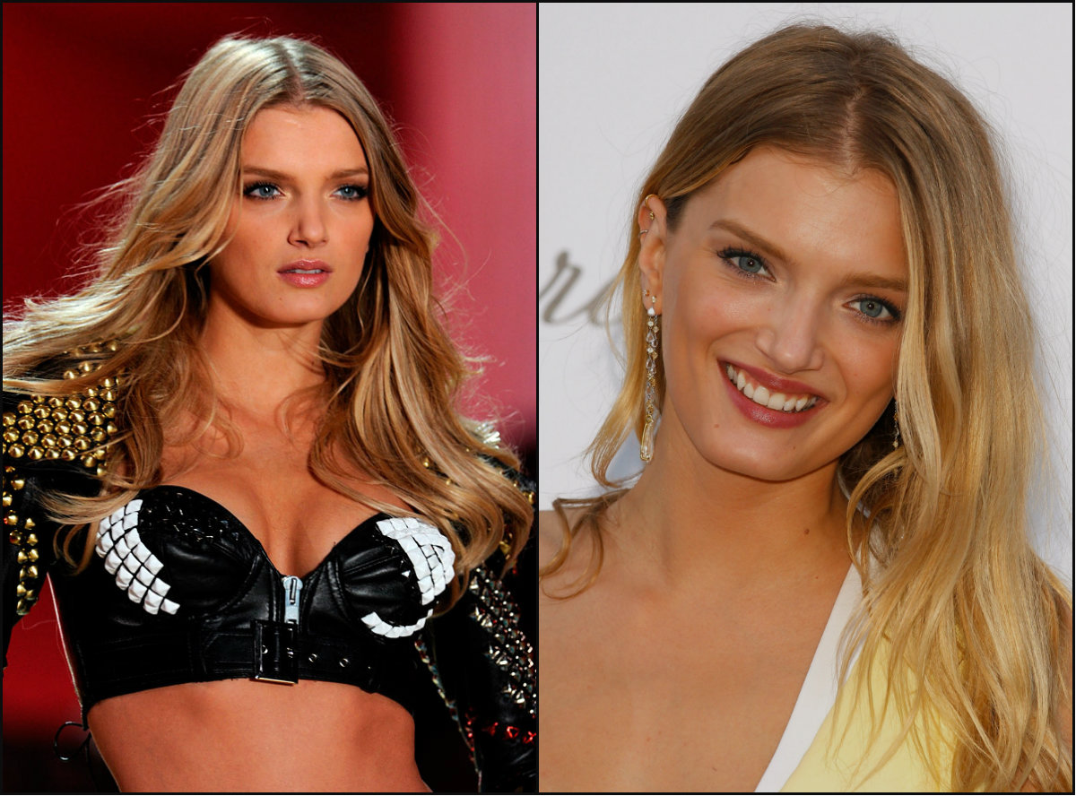 Victoria's Secret models hairstyles - Lily Donaldson
