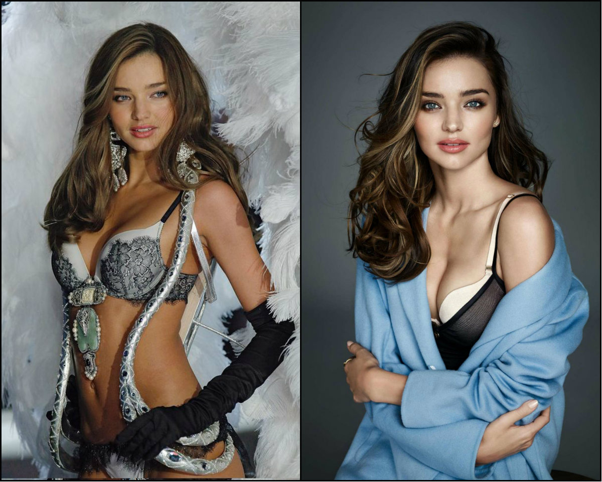 Victoria's Secret models hairstyles - Miranda Kerr