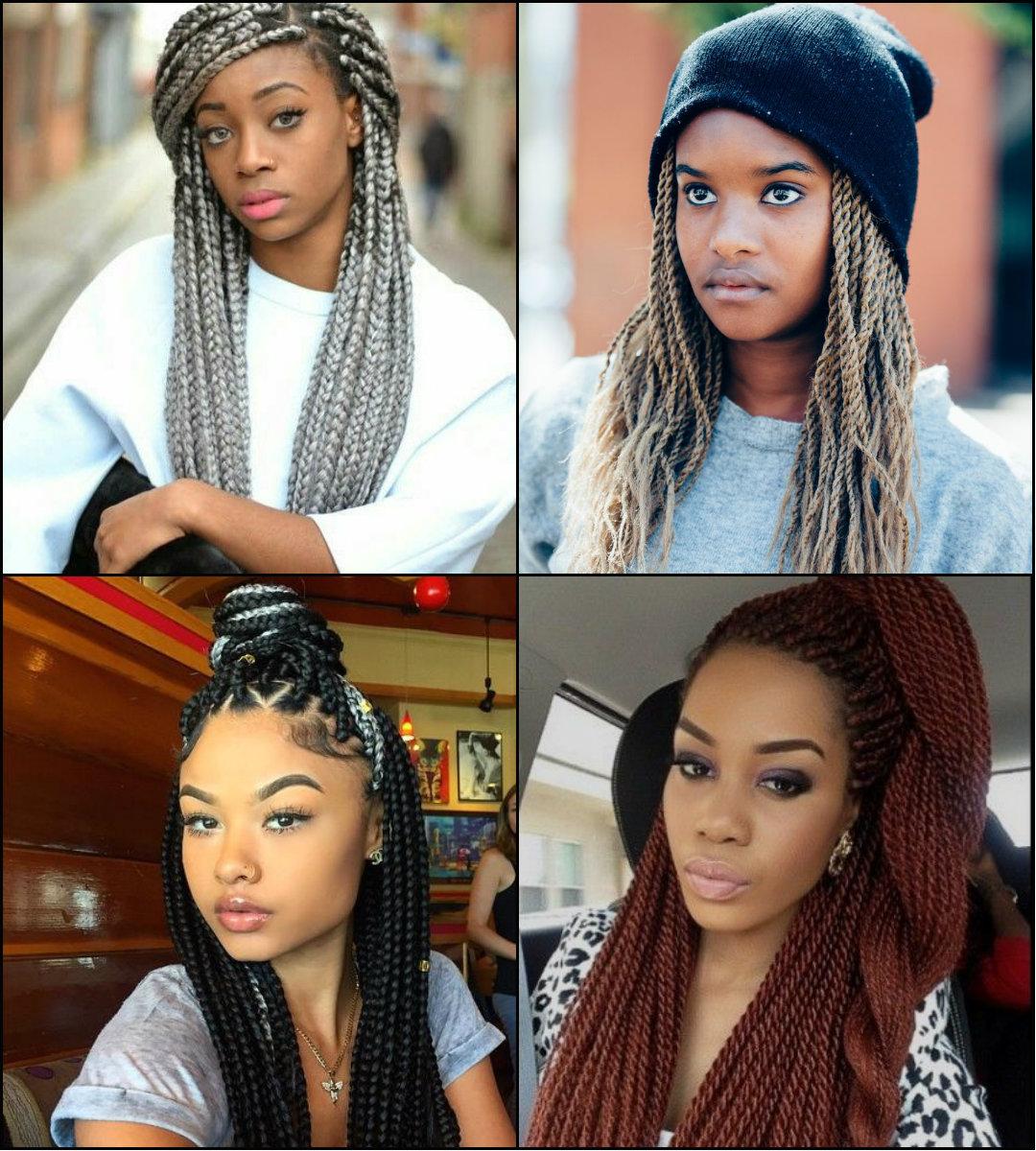 Sensational Twists And Braids Black Hairstyles 2017 Hairstyles 2016 Hair Hairstyle Inspiration Daily Dogsangcom