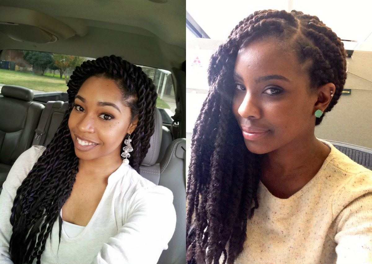 100  [ Natural Braid Hairstyles ] | Lazy Natural Braided ...
