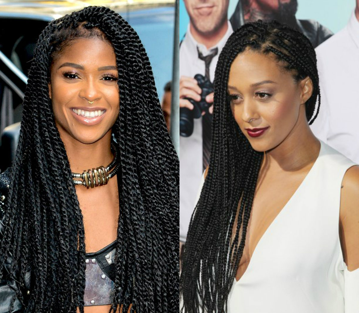 celebrity twists and braids black hairstyles